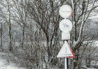 Wintereinbruch!