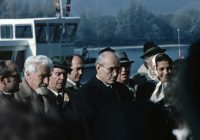 Sorge um die Donau: Konrad Lorenz am 27. Oktober 1973