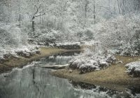 Erster Schnee und staubtrocken